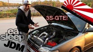 Начало JDM Эпохи на канале! Toyota Corolla 3S-GTE 4x4 ! Заходим на стрим! Жорик Ревазов.