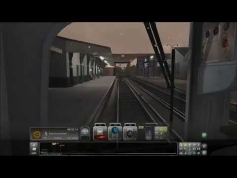 Train Simulator 2014 Isle Of Wight. ShaRyde Pier Head. 3x Speed.