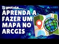 ArcGIS 9.3 #Especial (Vídeo - Aula) - Como fazer um mapa com todos os elementos cartográficos