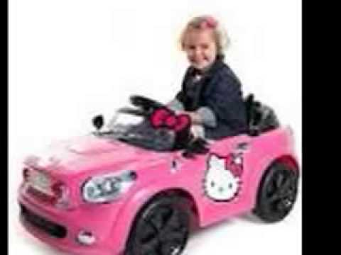 Hello Kitty Coupe 6V Ride On Purple