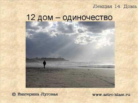 """Курс по астрологии """"Структура гороскопа"""". Урок 14. Дома гороскопа ч.3"""