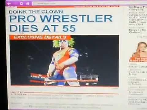 Breaking news ex wwe superstar doink the clown dies at 55 youtube