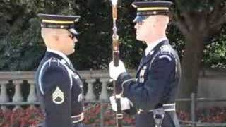 Changing Of The Guard Tomb Of The Unknown Soldier