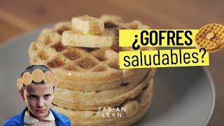 Waffles saludables. Fabián León