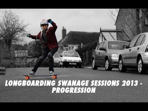 Longboarding Swanage Sessions 2013 - Progression