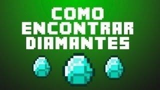 Como Encontrar Diamantes Rapido En Minecraft