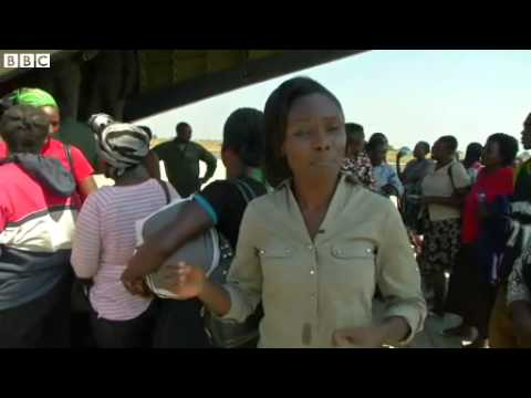 BBC News   South Sudan crisis  Kenya and Ethiopia leaders in Juba for talks