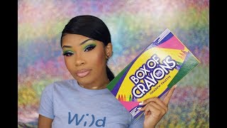BOX OF CRAYONS PALETTE... REALLY? | AALIYAHJAY
