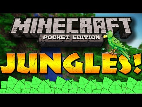 JUNGLES in Minecraft Pocket Edition