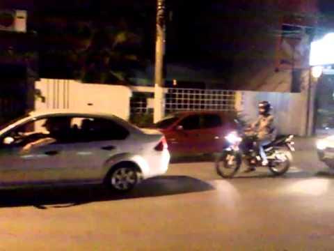 AUMENTO OU GREVE! Carreata da PMERJ, CBMERJ e PCERJ em Itaperuna-RJ em 07/02/2012.