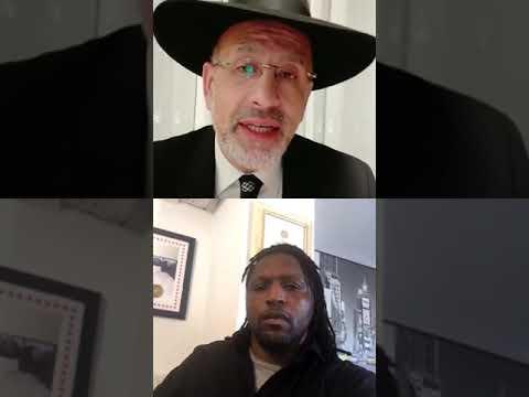 Un rabbin s adresse aux non juifs avec Claude Njoya