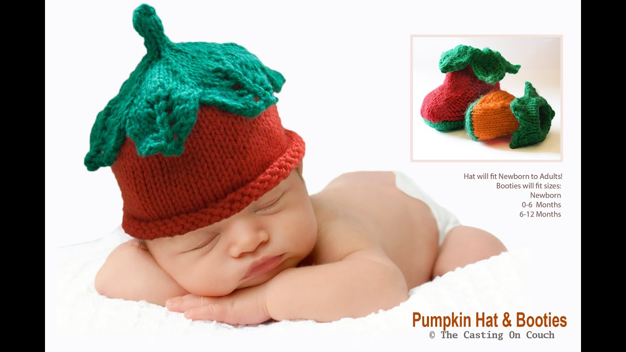 KNIT THIS CUTE BABY HAT WITH DECORATIVE LACE LEAVES TO THE CROWN - Knitting P...