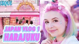 ♡ SHOPPING IN HARAJUKU   JAPAN VLOG 1 ♡