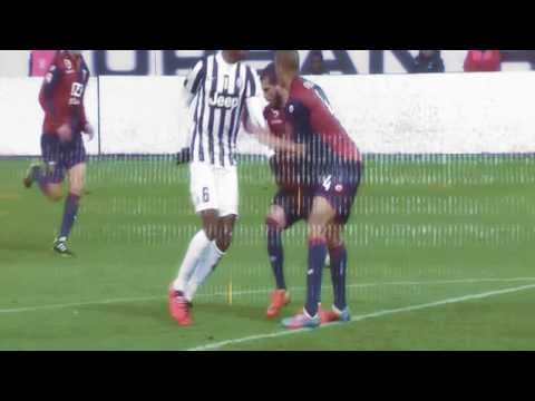 Pogba AWESOME backheel assist