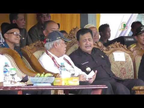 Bupati Kapuas Hulu Menghadiri Peresmian Jembatan Ensilat Oleh Menteri PUPR RI Tahun 2020