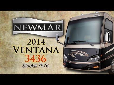 New 2014 Newmar Ventana 3436 Class A Diesel Motor Home