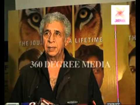 'Life of Pi' Red Carpet - Naseeruddin Shah says he was intrigued when he read 'Life of Pi'