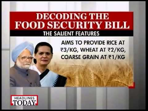 Govt calls all-party meet to end impasse on Food Bill