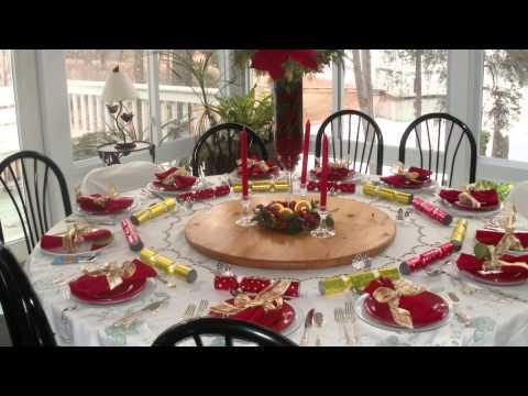 Karácsonyi terítékek, dekoráció - Christmas Table Decorations