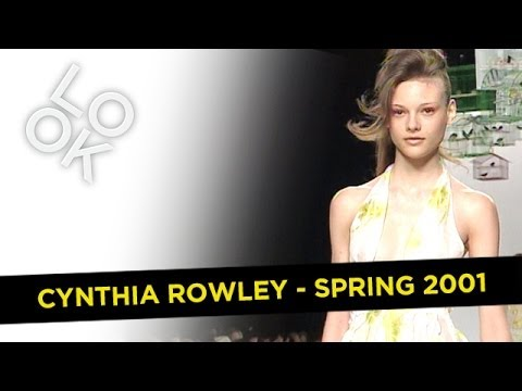 Cynthia Rowley Spring 2001: Fashion Flashback