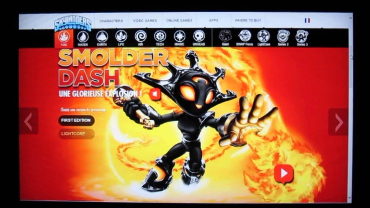 Skylanders swap force tous les nouveaux personnages de la classe feu youtube - Tous les skylanders ...