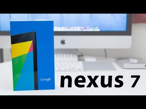 2013 Google Nexus 7 (2nd Generation): Unboxing, First Look, And Hands-On
