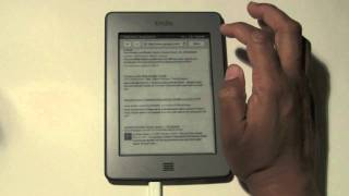 Kindle Touch: How To Use The Internet