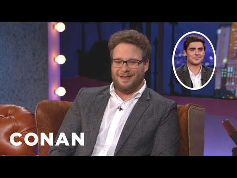 Seth Rogen's Man Crush On Zac Efron