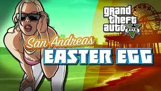 GTA 5: SAN ANDREAS EASTER EGG GTA:SA GIRL IN GTA V