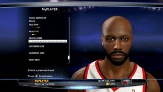 NBA 2K14 My Player Online Player Creation Of David