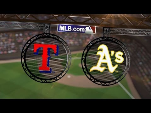 6/17/14: Vogt, Norris lead A's in 10-run performance
