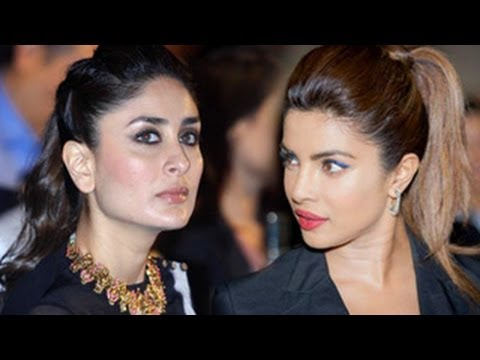 Kareena Kapoor IGNORES Priyanka Chopra at IIFA Awards 2014
