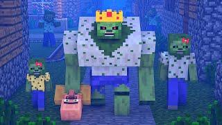 Zombie vs Villager Life 10 - Alien Being Minecraft Animation