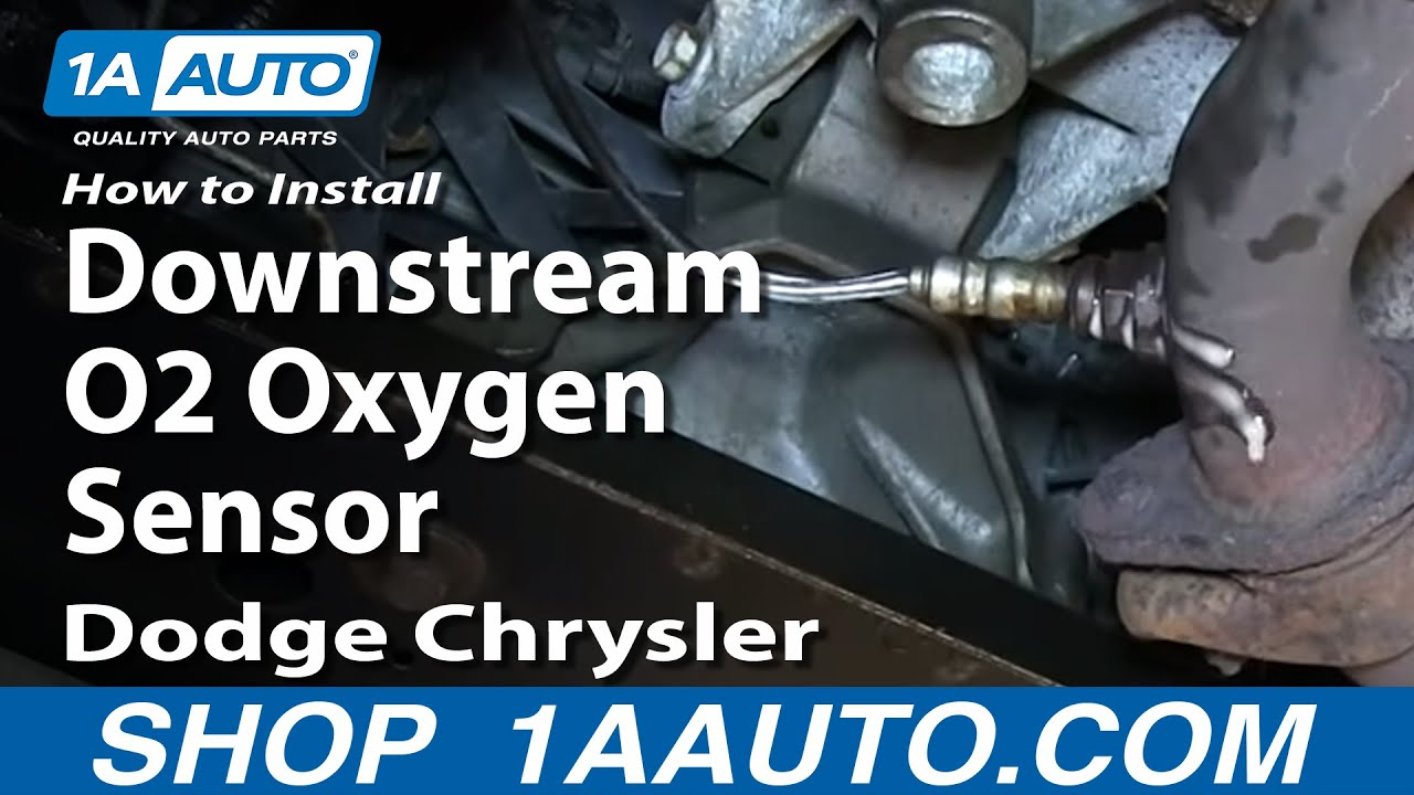 How To Install Replace Downstream O2 Oxygen Sensor 2 7l