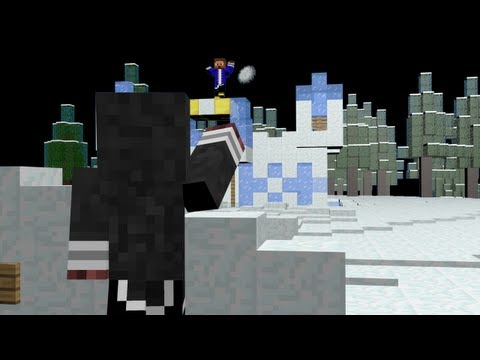Snowball Fight! (Minecraft Machinima)
