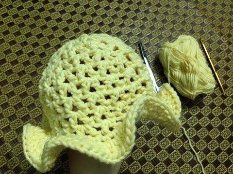 [Crochet] Hướng dẫn móc mũ xinh cho bé gái
