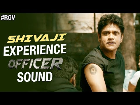SHIVAJI - Experience OFFICER Sound | RGV