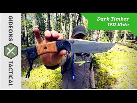 Giveaway Closed! Dark Timber 1911 Elite: Epic Field Knife