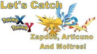 Pokemon X And Y 3DS XL An Easy Way To Catch Zapdos