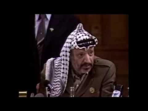 Arafat et Bill Clinton