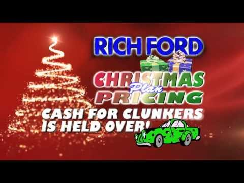 Rich Ford's Christmas Sales Event is ON!
