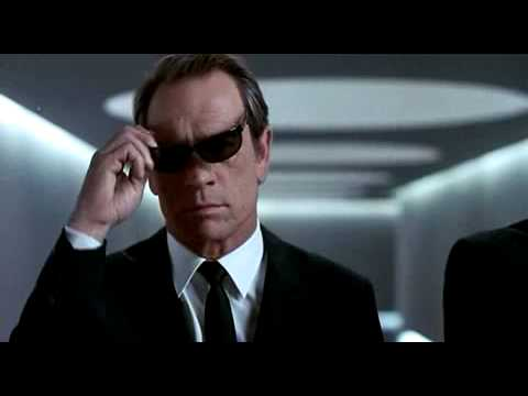 "Men In Black - Trailer, Here come the ""Men in Black!"" Based on the popular urban myth."
