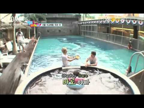 [B1SS] 120802 Hello Baby Season 6 with B1A4 - Episode 2 (3/4)