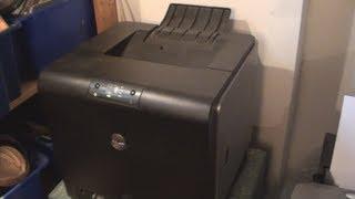 Dell Laser Printer Error Light Fix