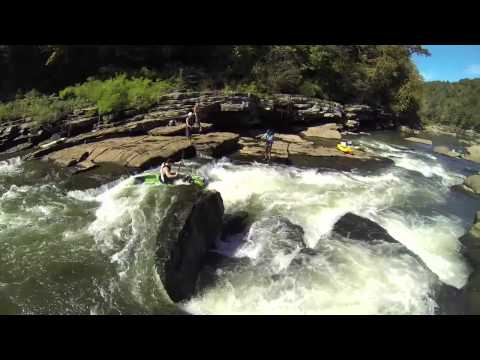 """GoPro Studio"" Edit 1: Jackson Kayaks catch class III rapids & BIG musky!"