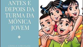 Antes e Depois da Turma da Monica Jovem view on youtube.com tube online.
