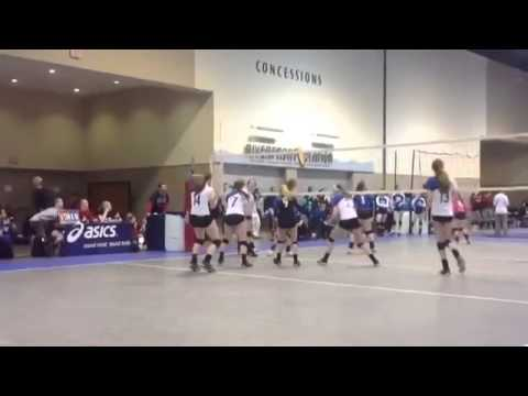 Sydney Schaap Scouts Cloud via Hudl Vollyball Highlight Video - Class of 2014