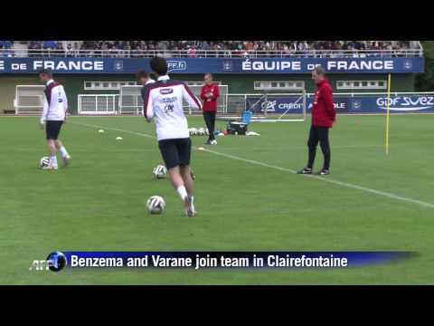 France team trains ahead of World Cup