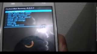 Custom Recovery (ClockWorkMod) On LG Optimus L7 P700