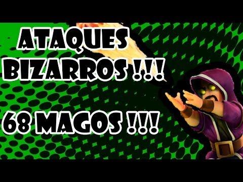 Ataque com 68 Magos - Ataques Bizarros ! ( 68 Wizzards Attack )